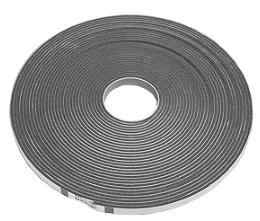 Уплотнитель шинорейки 4, 6, 8 мм